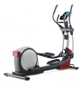 vélo elliptique à roue d'inertie arrière