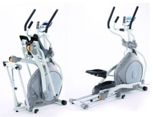 vélo elliptique à roue d'inertie avant